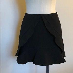 Bcbgmaxazaria Lindsey ruffle skirt